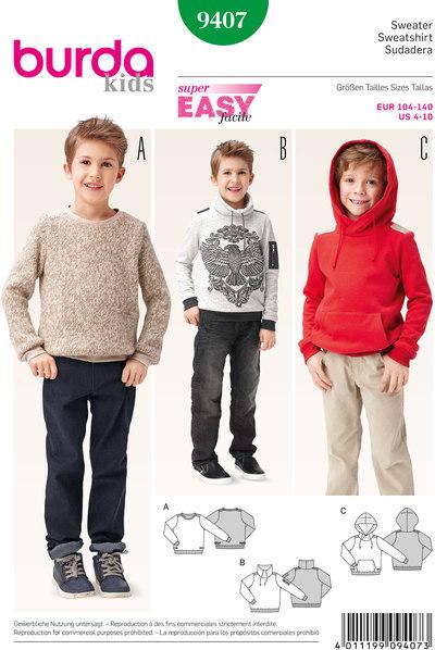 Sweater, pullover, hættetrøje