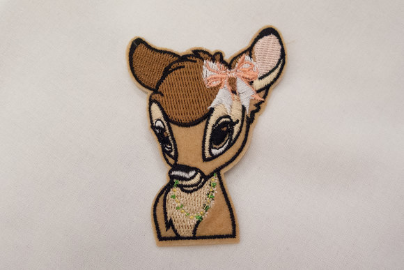 Bambi strygemærke 6x7cm