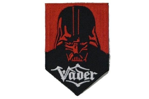 Darth Vader strygemærke 7 x 5 cm