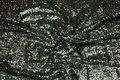 Flot paillet-stof i grønne nuancer