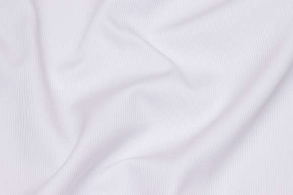 Hvid, mellemsvær bomuldspiqué