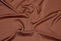 Nougatbrun, let stretch-polyester
