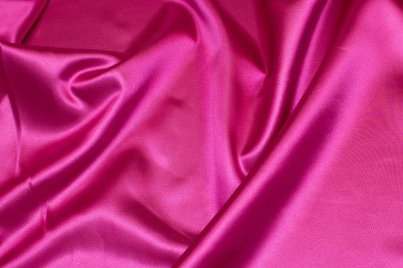 Polyestersatin i pink