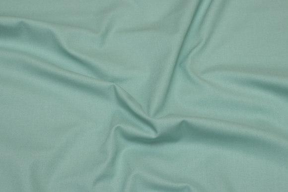 Sanfor-bomuld, økotex, mintgrøn