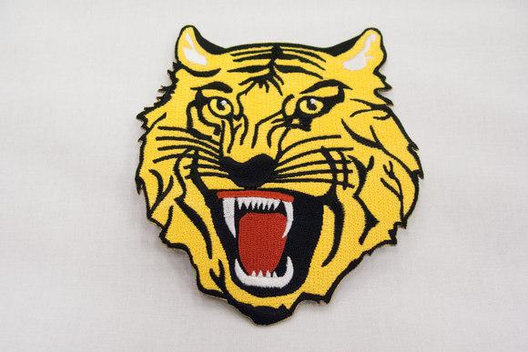 Tiger strygemærke 6x6cm