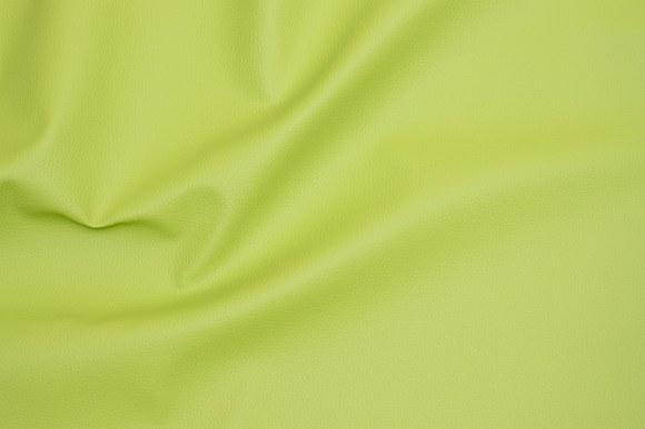 Limegrøn, præget, imiteret skind