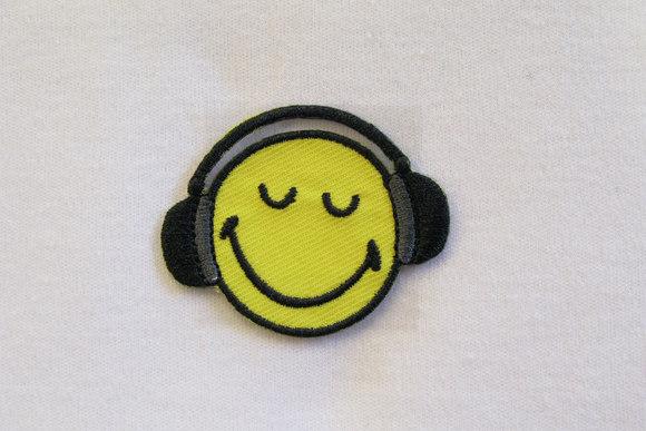 Smiley med hørebøffer 3,5cm