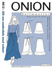 Slå om-nederdele med volant. Onion 9013.