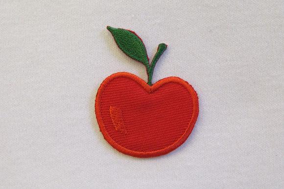 Æble strygemærke 3,5 cm