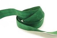 Elastikkantebånd i græsgrøn 2 cm. br.