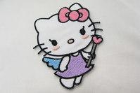 Hello Kitty med tryllestav 6 x 4 cm