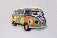 Hippie folkevognsrugbrød 7 x 5 cm