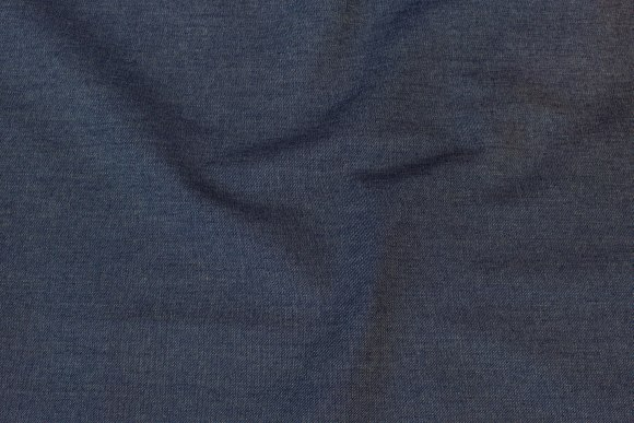 Meleret, mørkeblå stræk-denim