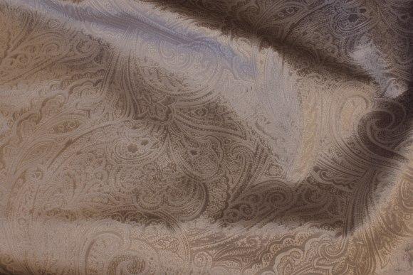 Præget møbel-velour i lys grå