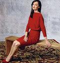 Vogue 1460. Kjole, Badgley Mischka.