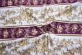 Borterne går på langs af stoffet. Til puder, kjoler, patchwork.