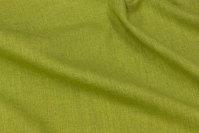 Kiwigrøn, groftvævet møbelstof