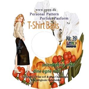 CD-rom nr. 39 - T-shirt Basis