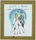 Permin 92-0177. Bryllup vægbroderi.