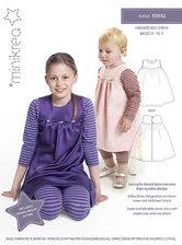 Klassisk kjole til børn. Minikrea 50002.