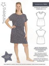 Dolman kjole. Minikrea 70050.
