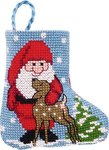 Permin 01-9212. Julemand julestrømpe.