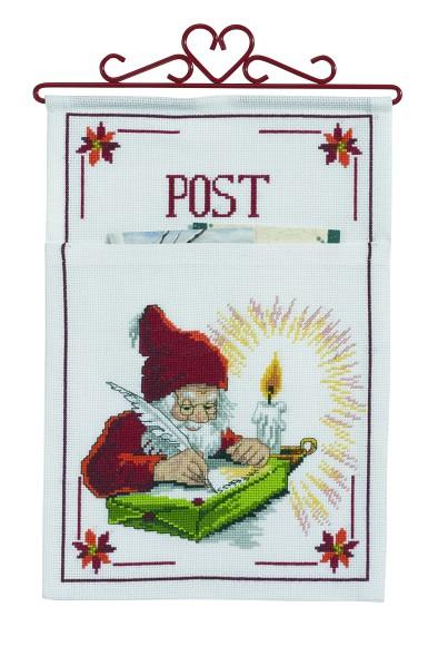 Postlomme til juleposten