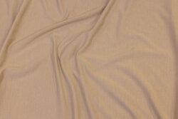 Blød bambus-jersey i lys sandfarvet