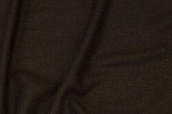 Blød, tynd viscosetwill i mørk brun til tørklæder