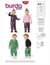Bukser og trøje til småbørn. Burda 9293.