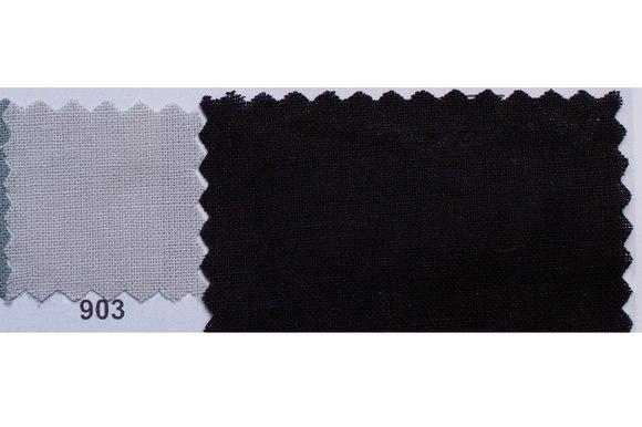 Farvet bomuldslærred i grå og sort