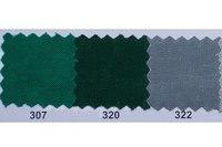 Farvet bomuldslærred i grøn, mørkegrøn og musegrå