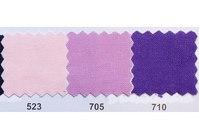 Farvet bomuldslærred i lyserød, lyslilla og lilla