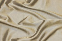 Grå-beige stretch-satin