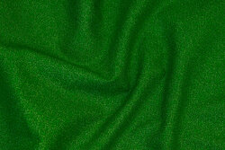 Grøn patchwork bomuld med nister