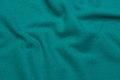 Jadegrøn møbel-uld, diagonalvævet.
