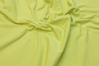 Lime bomuldsjersey med lycra