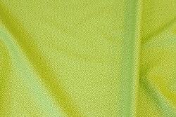 Lysegrøn bomuld med mikro-prikker