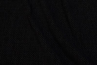 Mørkbrun møbelvelour med lille nist