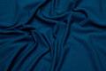 Mørkeblå let viscosejersey med lycra