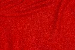 Rød patchwork bomuld med nister
