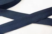 Sildebensvævet bånd marine 2,5cm