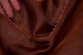 Transparent brun organza