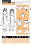 Onion 20032. Slå om-top/kjole og nederdel.
