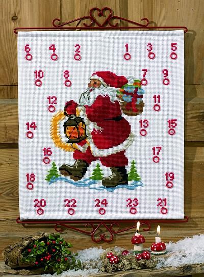 Pakkekalender - Julemand med pakker