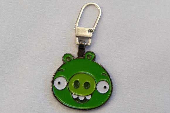 Angry Birds vedhæng i grøn