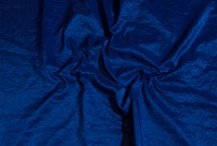 Coboltblå gallataft-crinkle