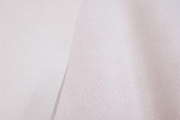 Fast2Fuse, hvidt strygeindlæg i kraftig kvalitet, lim på begge sider