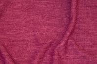 Groftvævet polyester i meleret pink