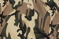 Kraftig camouflage canvas